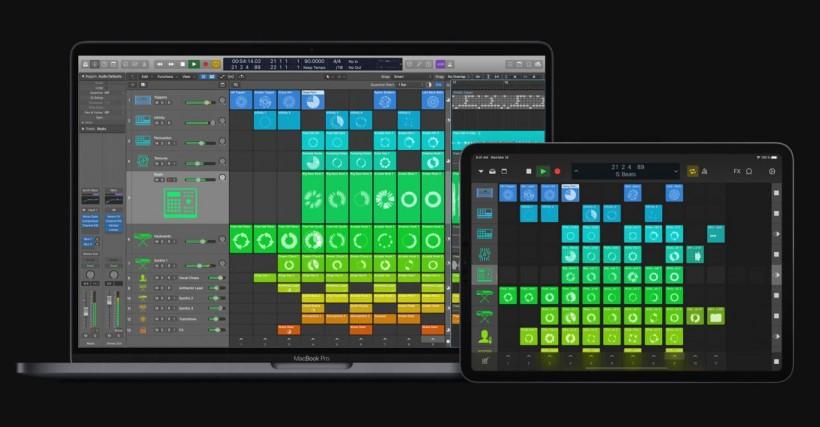 Logic Pro X 10.5 最大级更新到来,Live Loops、新采样器、新鼓机、新步进音序器都安排上了