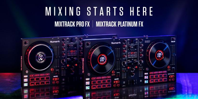 Numark 推出 Mixtrack Pro FX 和 Mixtrack Platinum FX 两款 DJ 控制器,例