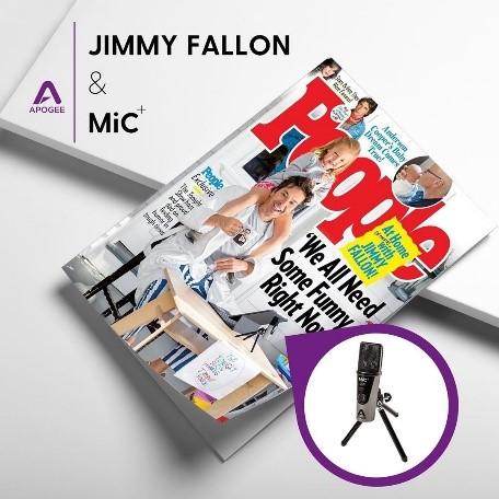 美国名嘴吉米・法伦的宅家宝典之 Apogee MiC+