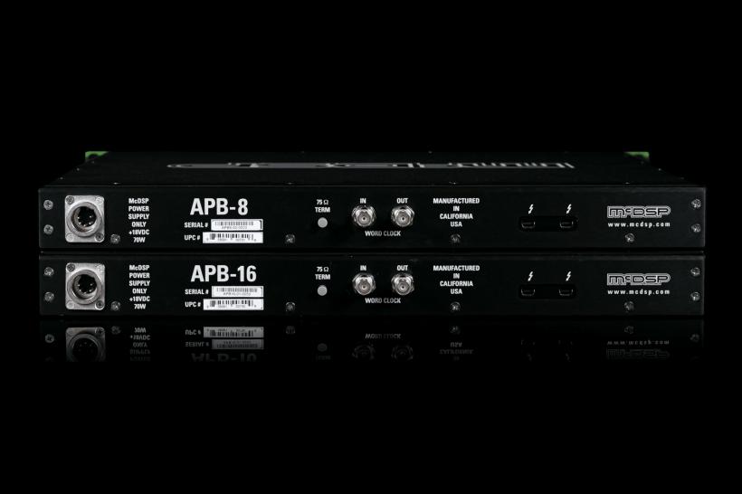 McDSP 宣布缩水一半的 APB-8 DSP 处理机架和新的 Moo X 调音台插件