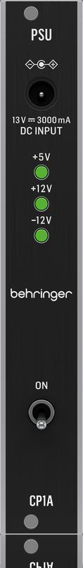 Behringer 发布首个真原创 eurorack 模块:CP1A 电源