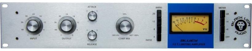 唯一真正完全再现传奇混音师 CLA 工作室中 1176 型压缩器的硬件――Black Lion Audio Bluey