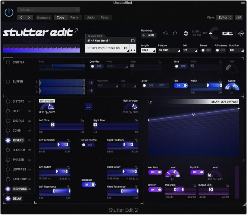 现场声音疯狂特效之王:BT 和 iZotope 联手发布 Stutter Edit 2