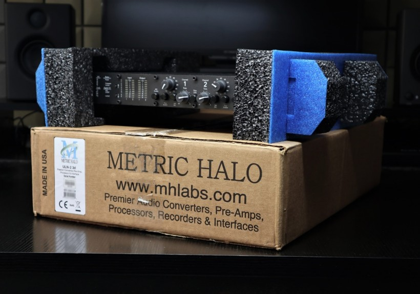 万元级别声卡「六面兽」:METRIC HALO 第三代模组化便携式音频接口 ULN-2 3d 简评