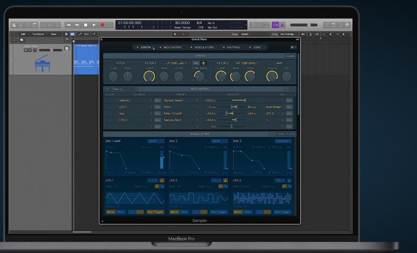 Logic Pro 小贴士:Apple Logic Pro X 10.5 数字音频工作站评测