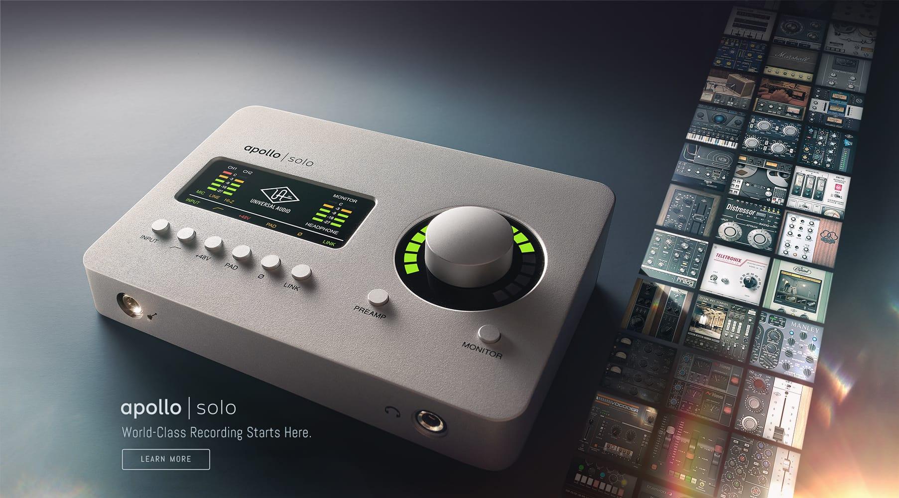 Universal Audio - Apollo Solo TB3 / USB