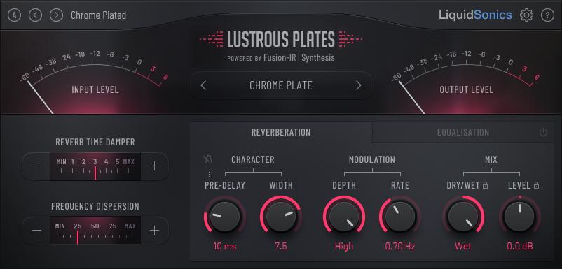 LiquidSonics - Lustrous Plates