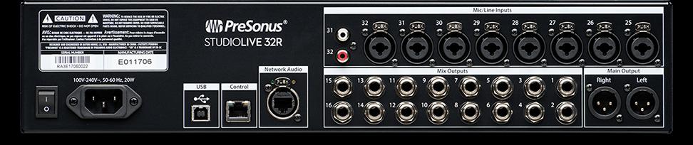 PreSonus - StudioLive 32R