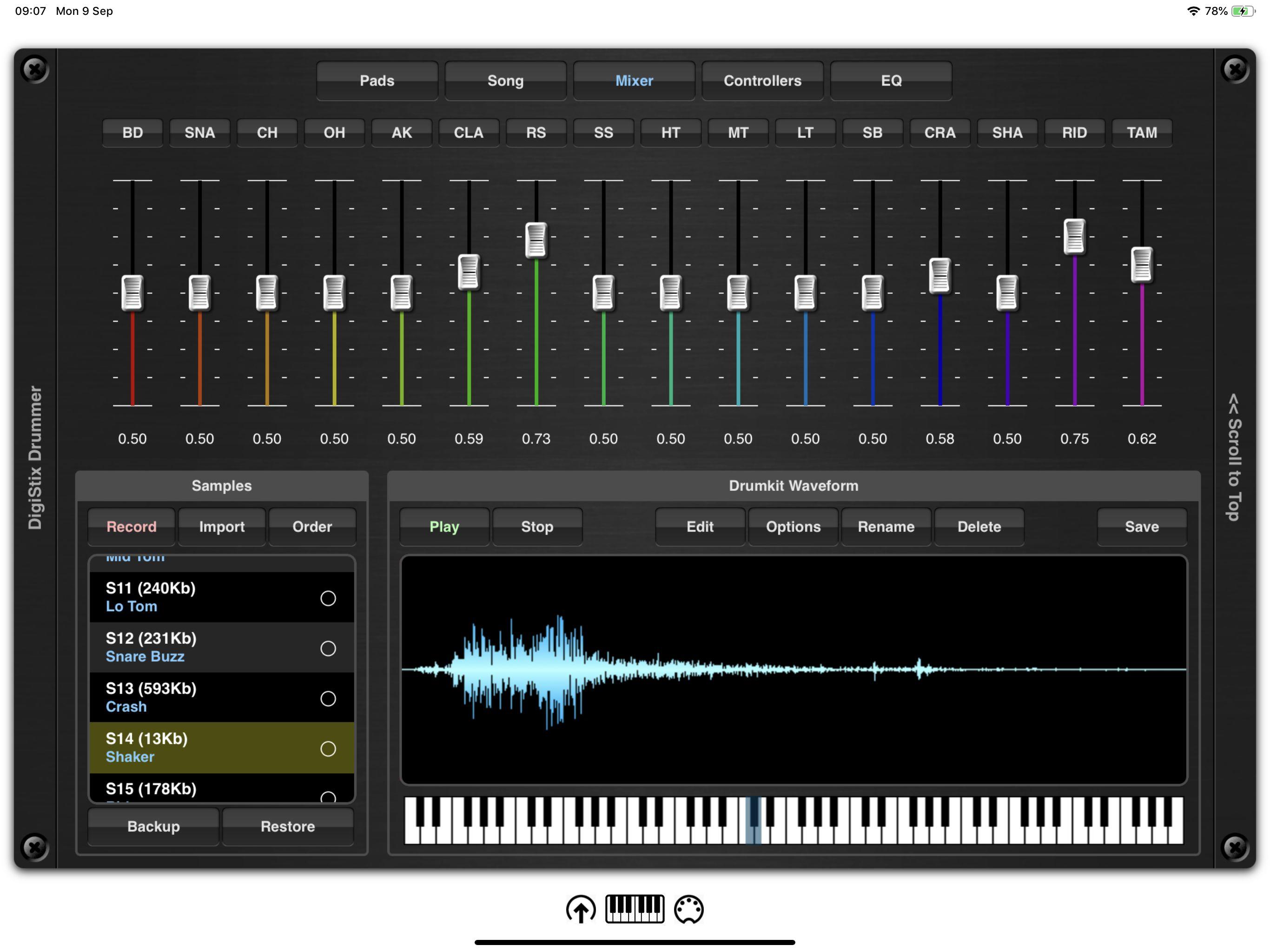 N/A - DigiStix Drummer for iOS