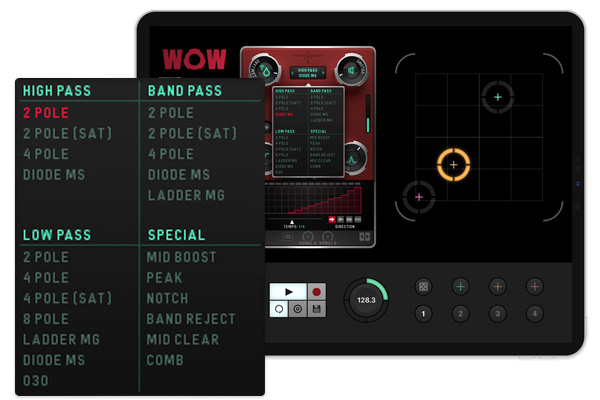 Sugar Bytes - Wow2 for iPad