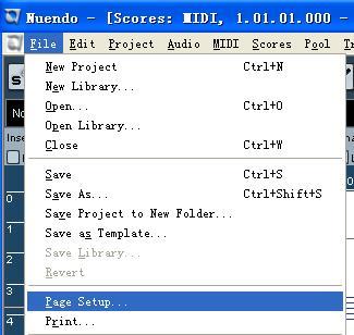 电脑上的总谱纸:五线谱窗口; [转载]大觉者电脑音乐教程『第十七课』图片