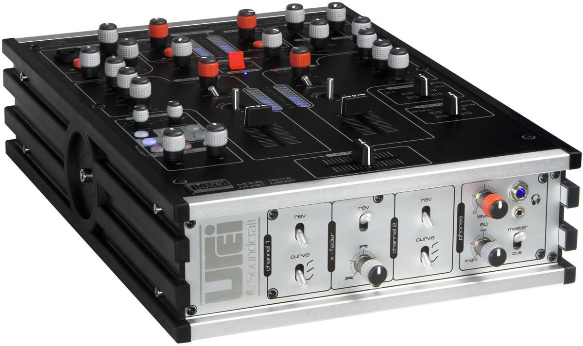 urei 推出带效果器的dj调音台 1601e