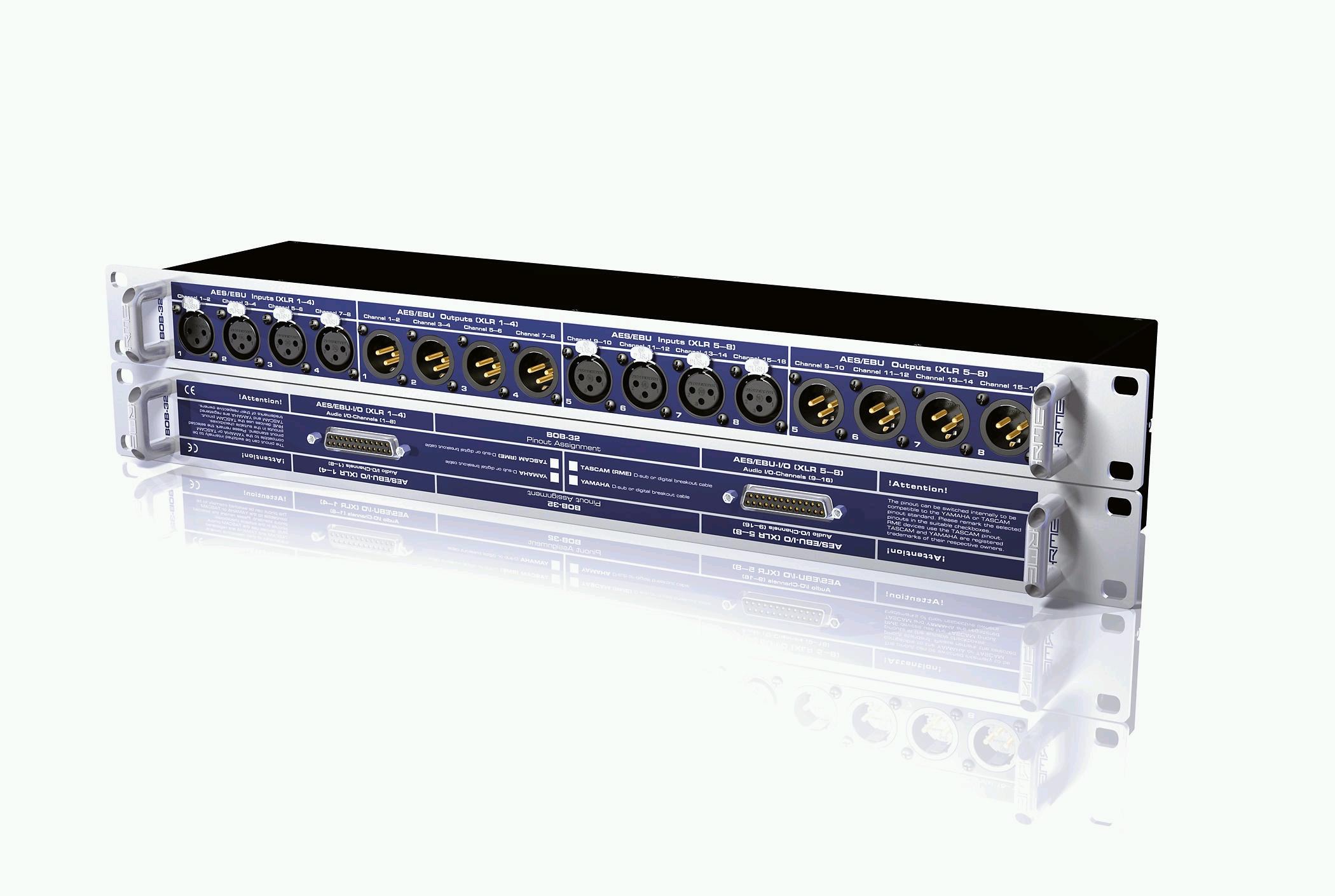 rme 发布 bob-32 通用接线盒