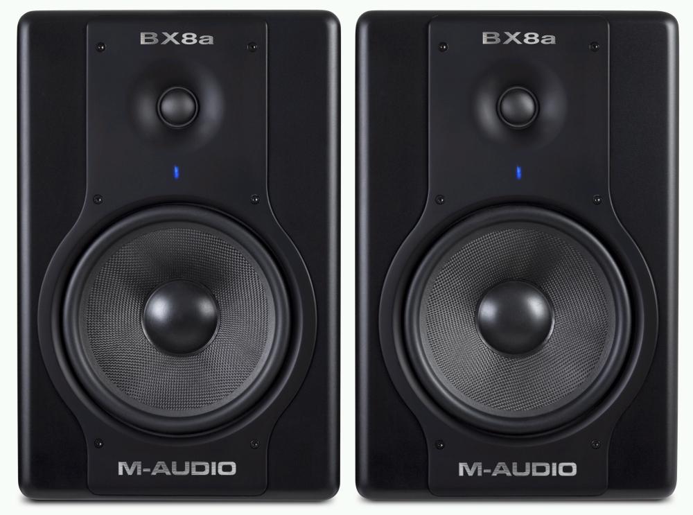 m-audio 推出豪华版 bx5a/bx8a 监听音箱