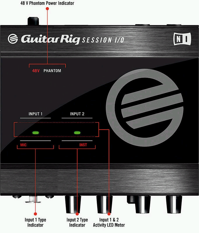 Native Instruments - Guitar Rig Session - midifanǹע