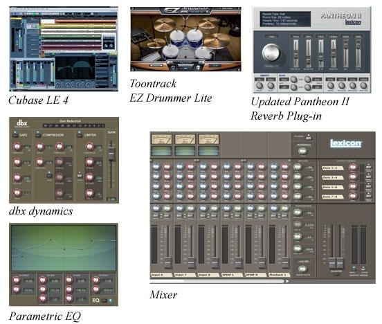 fw810s的软件调音台和赠送的软件