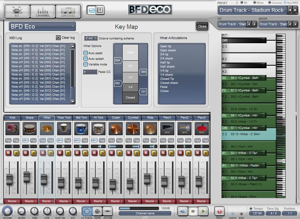 FXpansion 发布了 BFD 家族中的最新成员:BFD Eco 是一个经过简化的版本,是一个有趣并且价格便宜的原声鼓软件乐器,基于 BFD2 引擎。优化了灵活性和功能非常易于使用,BFD Eco 具有大量内建鼓音色库和节奏,并且还可以使用 FXpansion 扩展以及 第三方 扩展音色。 BFD Eco 可以让你获得一些来自 BFD2 音色库中最好的音色,它们是在 伦敦的 Air 录音棚录制的。这些音色具有令人印象深刻的细节层次和味道 - 除此以外,BFD Eco 还充满了悦耳的音乐特质。 在 BF