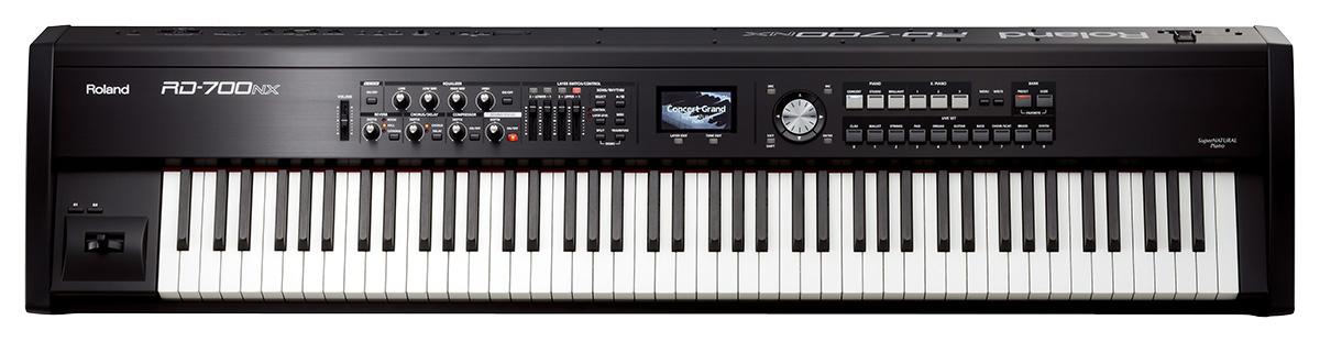 roland 发布 rd-700nx 电钢琴