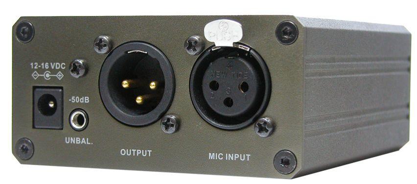 非平衡式麦克风运放电路