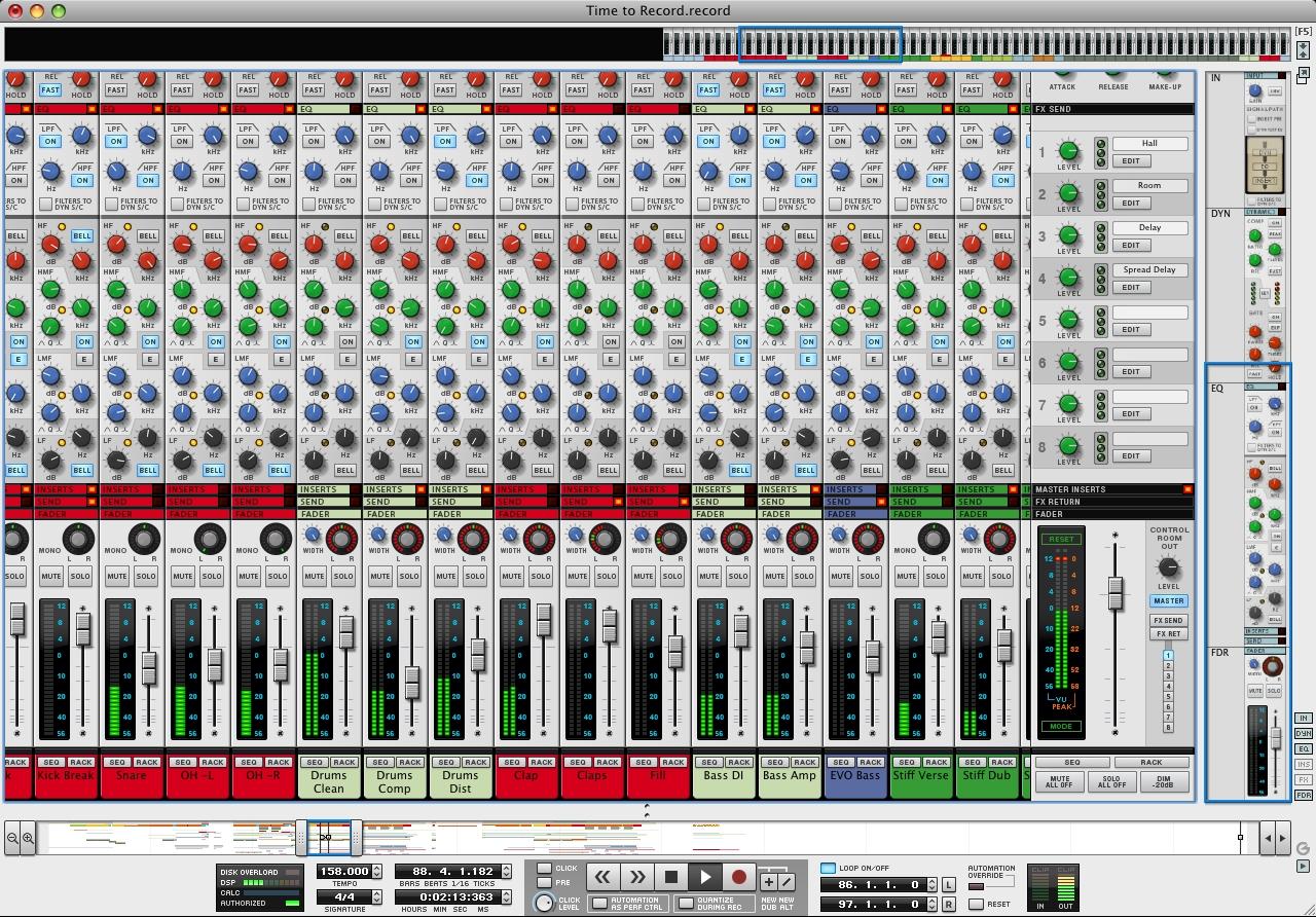 k990效果器调音台接线图